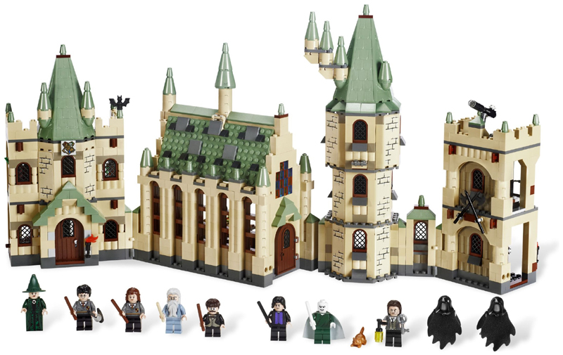 Bricklink Set 4842 1 Lego Hogwarts Castle 4th Edition Harry
