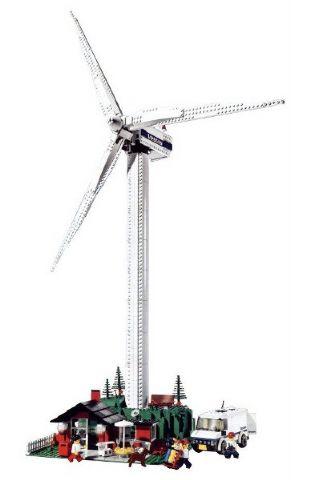 BrickLink - Set 4999-1 : Lego Wind Turbine - Vestas