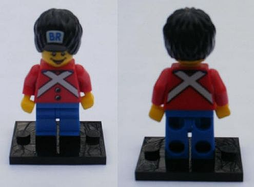 New Lego BR Minifigure Polybag 5001121