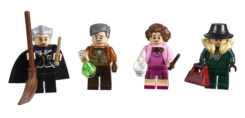 Bricklink Set 5005254 1 Lego Minifigure Collection Bricktober 2018 1 4 Tru Exclusive Harry Potter Collectible Minifigures Harry Potter Bricklink Reference Catalog