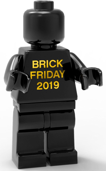 Lego 5006065 BRICK FRIDAY 2019 Exclusive Minifigur  NEU /& OVP Black Friday 2019