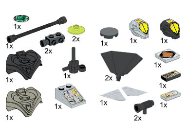 BrickLink - Set 5384-1 : Lego Space Accessories [Service Packs:Space] -  BrickLink Reference Catalog
