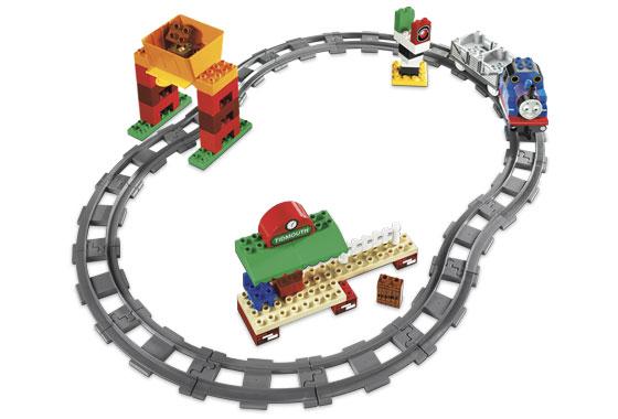 Bricklink Set 5554 1 Lego Thomas Load And Carry Train Set Duplo