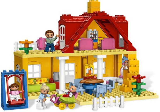 Bricklink Set 5639 1 Lego Family House Duploplayhouse