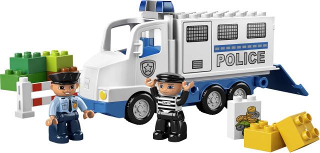 BrickLink - Set 5680-1 : Lego Police Truck [Duplo:Duplo, Town:Police] -  BrickLink Reference Catalog