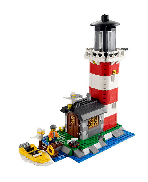 Bricklink Set 5770 1 Lego Lighthouse Island Creator Model Building Bricklink Reference Catalog