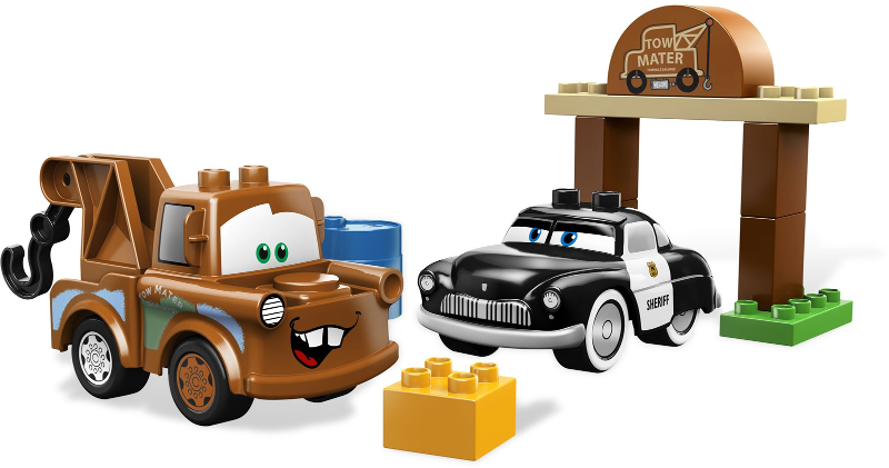 BrickLink - Set 5814-1 : Lego Mater's Yard [Duplo:Cars] - BrickLink  Reference Catalog