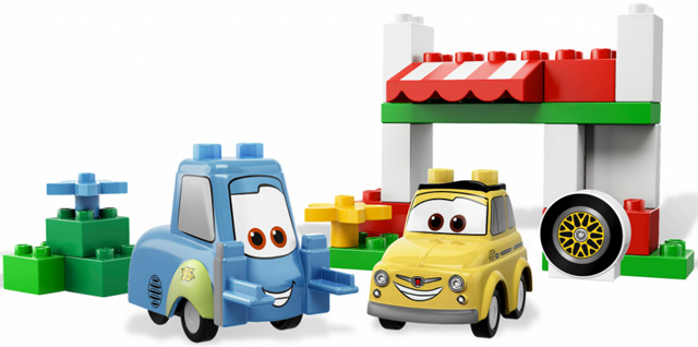Bricklink Set 5818 1 Lego Luigis Italian Place Duplocars