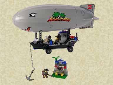 ballon dirigeable lego