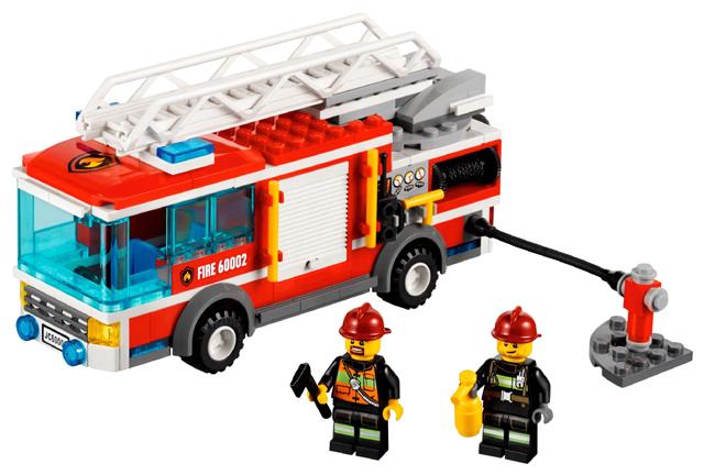 Bricklink Set 60002 1 Lego Fire Truck Towncityfire