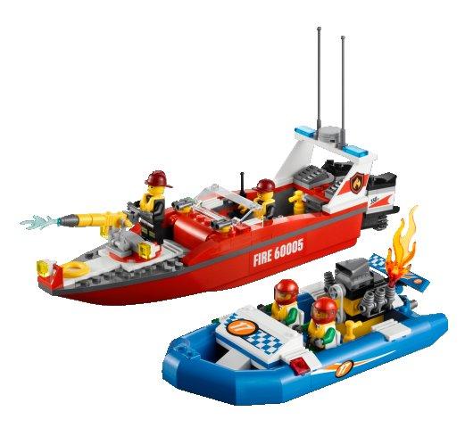 Bricklink Set 60005 1 Lego Fire Boat Towncityfire
