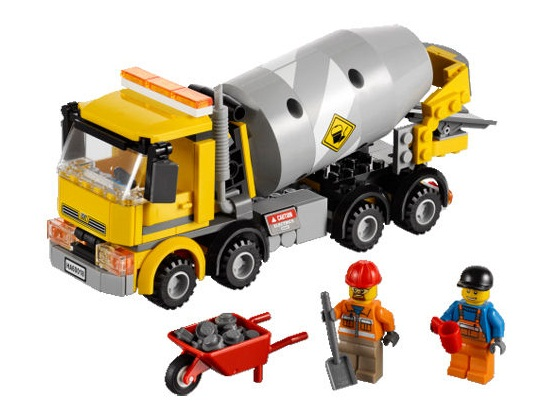 Bricklink Set 60018 1 Lego Cement Mixer Towncityconstruction