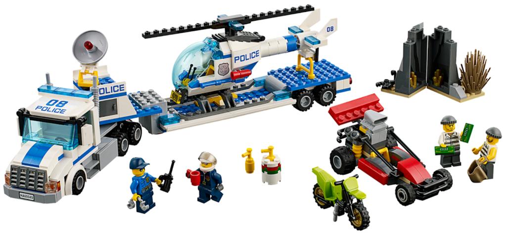 Bricklink Set 60049 1 Lego Helicopter Transporter Towncity