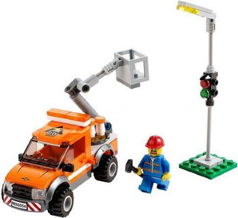 BrickLink - Set 60054-1 : Lego Light Repair Truck [Town:City:Traffic] -  BrickLink Reference Catalog