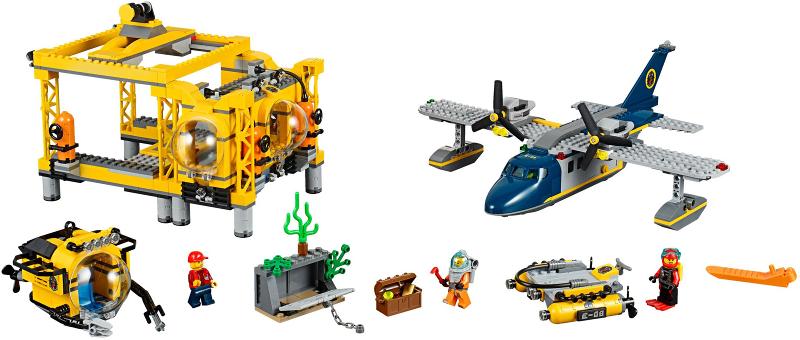 BrickLink - Set 60096-1 : Lego Deep Sea Operation Base [Town