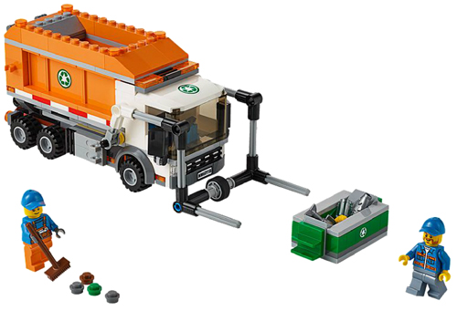 BrickLink - Set 60118-1 : Lego Garbage Truck [Town:City:Traffic] -  BrickLink Reference Catalog
