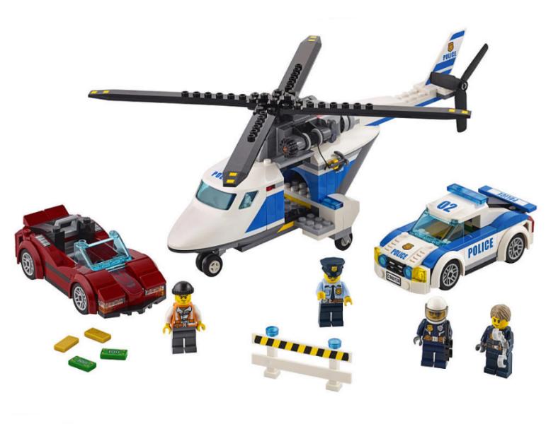 Bricklink Set 60138 1 Lego High Speed Chase Towncitypolice