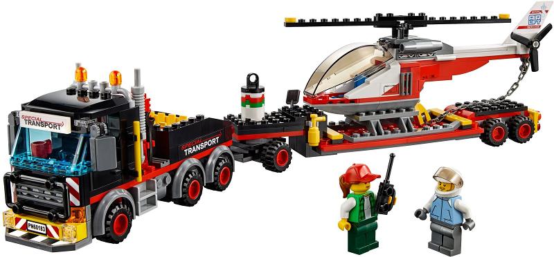 BrickLink - Set 60183-1 : Lego Heavy Cargo Transport [Town