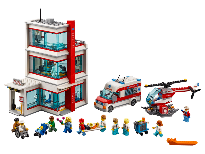 Bricklink Set 60204 1 Lego City Hospital Town City Hospital Bricklink Reference Catalog
