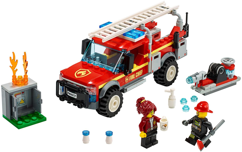 Bricklink Set 60231 1 Lego Fire Chief Response Truck Town City Fire Bricklink Reference Catalog