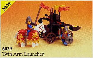 6039 LEGO Castle Twin Arm Launcher