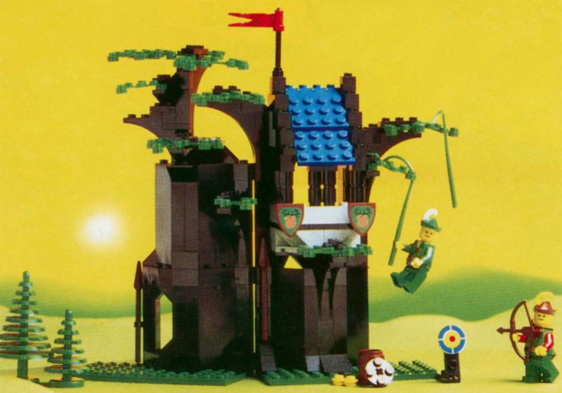 Bricklink Set 6054 1 Lego Forestmens Hideout Castleforestmen