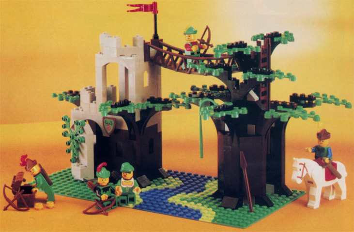Bricklink Set 6071 1 Lego Forestmens Crossing Castleforestmen