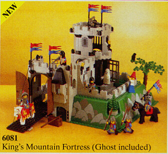 Bricklink Set 6081 1 Lego Kings Mountain Fortress Castle