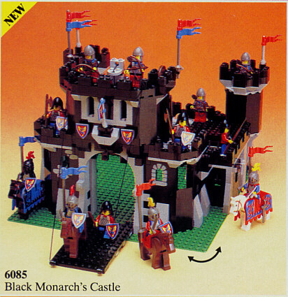 Bricklink Set 6085 1 Lego Black Monarchs Castle Castleblack
