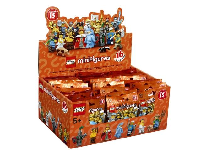 X 1 Cheveux Pièce pour le faune de série 15 pièces 15 LEGO-Minifigures Série
