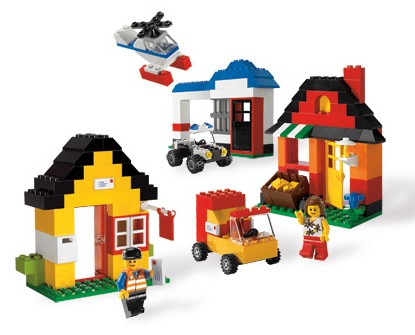 BrickLink - Set 6194-1 : Lego My Own LEGO Town [Creator:Basic Set ...
