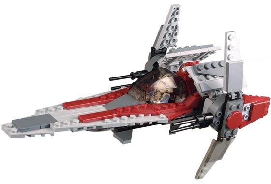 Bricklink Set 6205 1 Lego V Wing Fighter Star Warsstar Wars