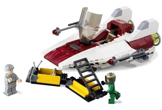Bricklink Set 6207 1 Lego A Wing Fighter Star Warsstar Wars