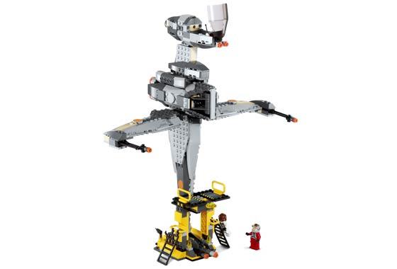 Bricklink Set 6208 1 Lego B Wing Fighter Star Warsstar Wars