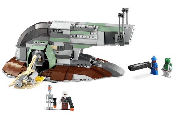 Bricklink Set 6209 1 Lego Slave I 2nd Edition Star Warsstar