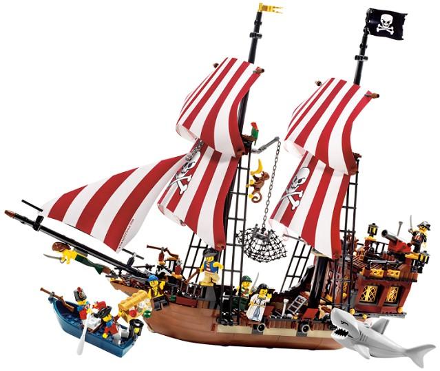 Bricklink Set 6243 1 Lego Brickbeards Bounty Piratespirates