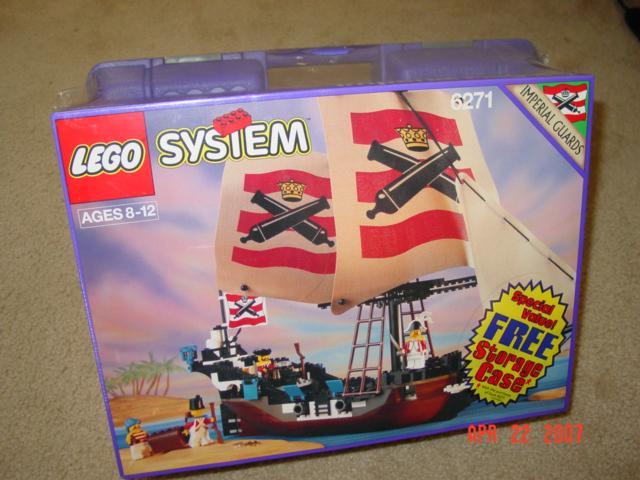 BrickLink - Set 6271-2 : Lego Imperial Flagship with Free Storage ...
