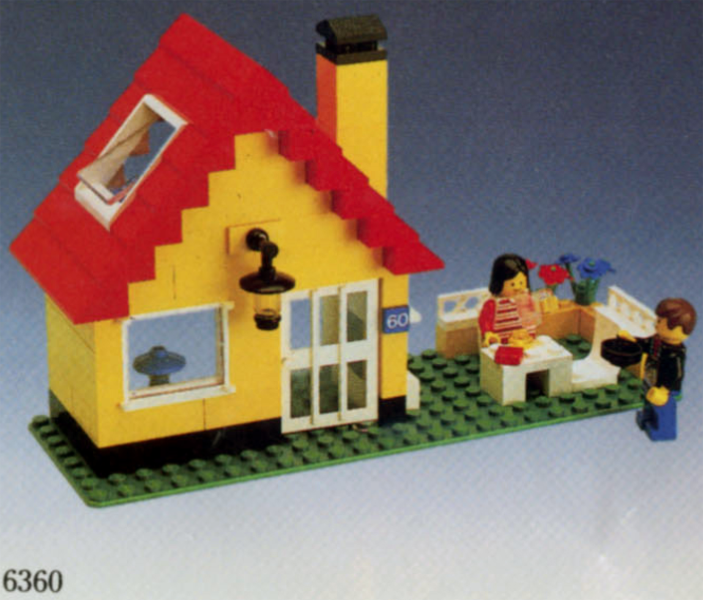 Bricklink Set 6360 1 Lego Weekend Cottage Town Classic Town Building Bricklink Reference Catalog