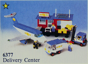 BrickLink - Set 6377-1 : Lego Delivery Center [Town:Classic Town:Cargo] -  BrickLink Reference Catalog