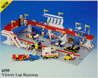 BrickLink - Set 6395-1 : Lego Victory Lap Raceway [Town:Classic Town:Race]  - BrickLink Reference Catalog