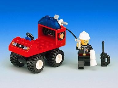 BrickLink - Set 6407-1 : Lego Fire Chief [Town:Town Jr.:Fire] - BrickLink  Reference Catalog