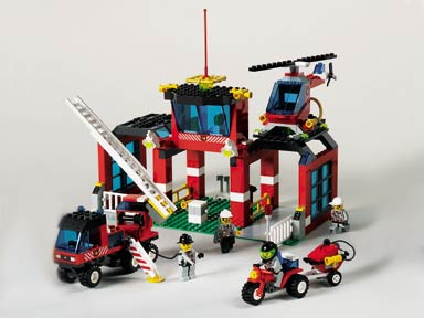 BrickLink - Set 6478-1 : Lego Fire Fighters' HQ [Town:Town Jr.:Fire] -  BrickLink Reference Catalog