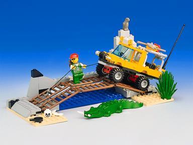 BrickLink - Set 6490-1 : Lego Amazon Crossing [Town:Outback