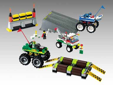 BrickLink - Set 6617-1 : Lego Tough Truck Rally [Town:Race] - BrickLink  Reference Catalog