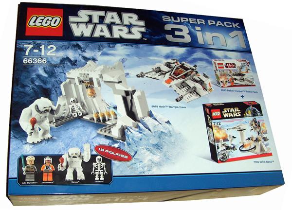 BrickLink - Set 66366-1 : Lego Star Wars Super Pack 3 in 1 (8089 ...