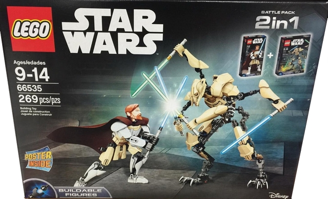 Bricklink Set 66535 1 Lego Battle Pack 2 In 1 Obi Wan Kenobi