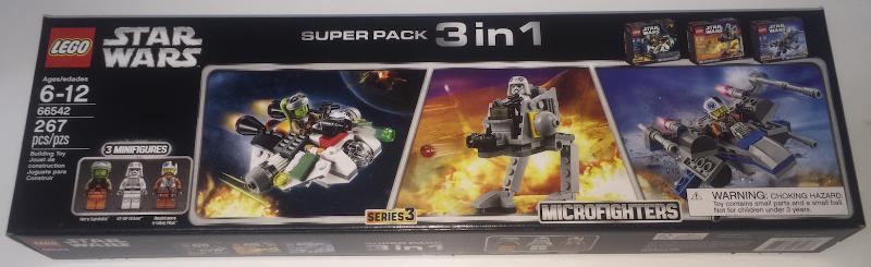 Lego lot 1x 75130 NOS 1x 75127 Star wars 1x 75125