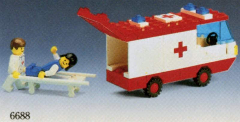 BrickLink - Set 6688-1 : Lego Ambulance [Town:Classic Town:Hospital] -  BrickLink Reference Catalog