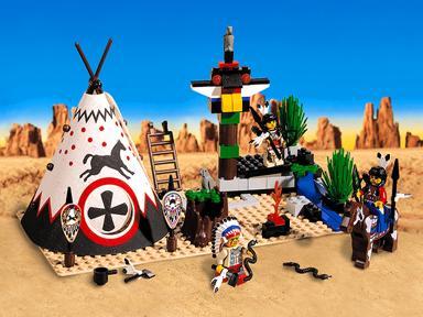 BrickLink - Set 6746-1 : Lego Chief's Tepee [Western:Indians] - BrickLink  Reference Catalog