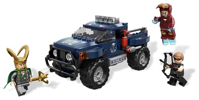 Super Heroes STICKER SHEET LEGO 6867 Loki/'s Cosmic Cube Escape